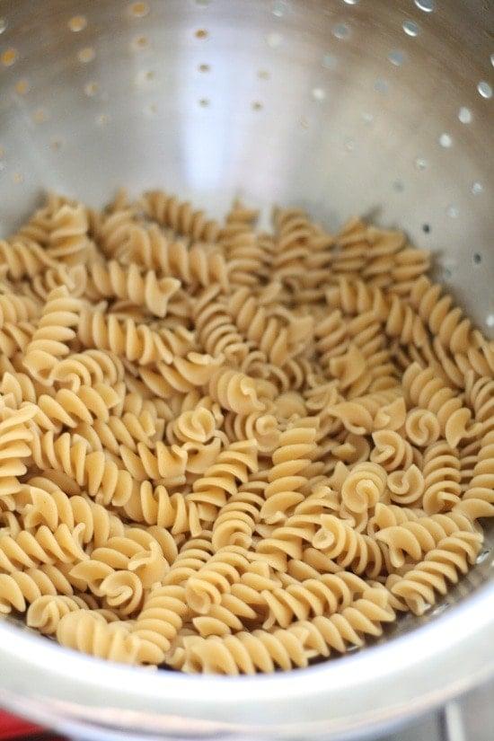 Cooke pasta