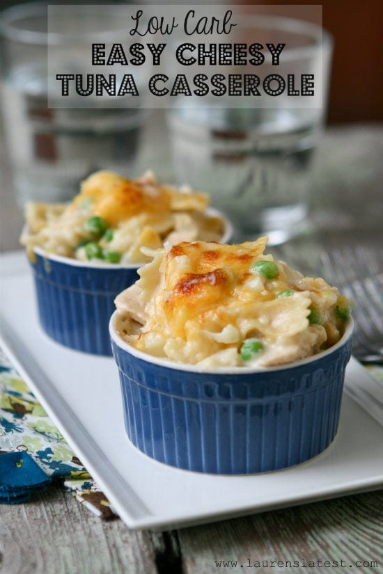 Cheesy Tuna Casserole