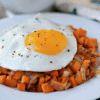sweet potato and egg hash