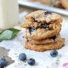 blueberry white chocolate chunk oatmeal cookies