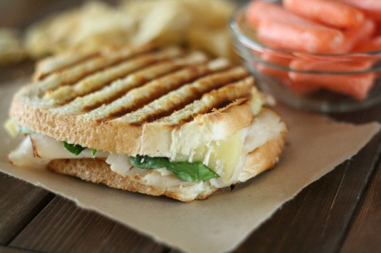 Cajun Turkey and Brie Panini