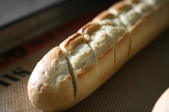 Cooked bread
