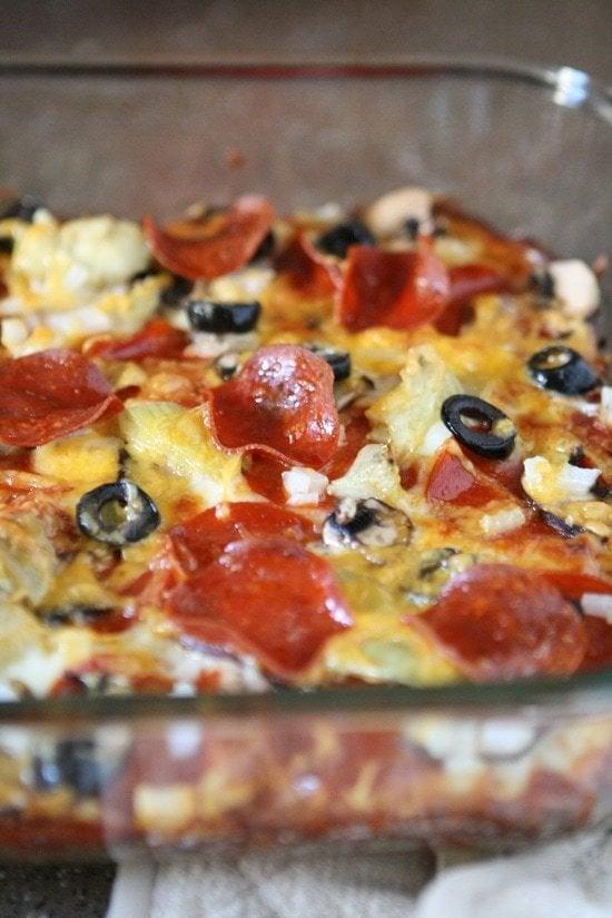 Zucchini Pizza Casserole