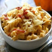 Pumpkin Macaroni & Cheese