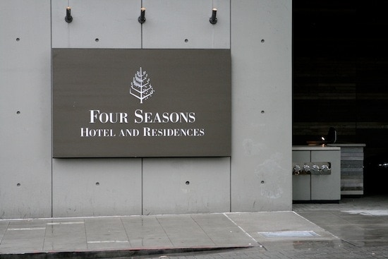 Four Seasons Hotel and Residences Sign