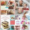 collage of cookbooks