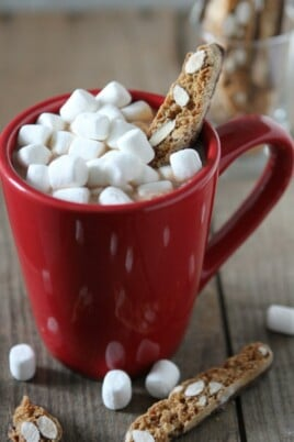egg nog mexican hot chocolate