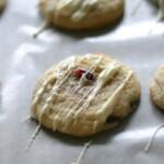 Pomegranate White Chocolate Sugar Cookies