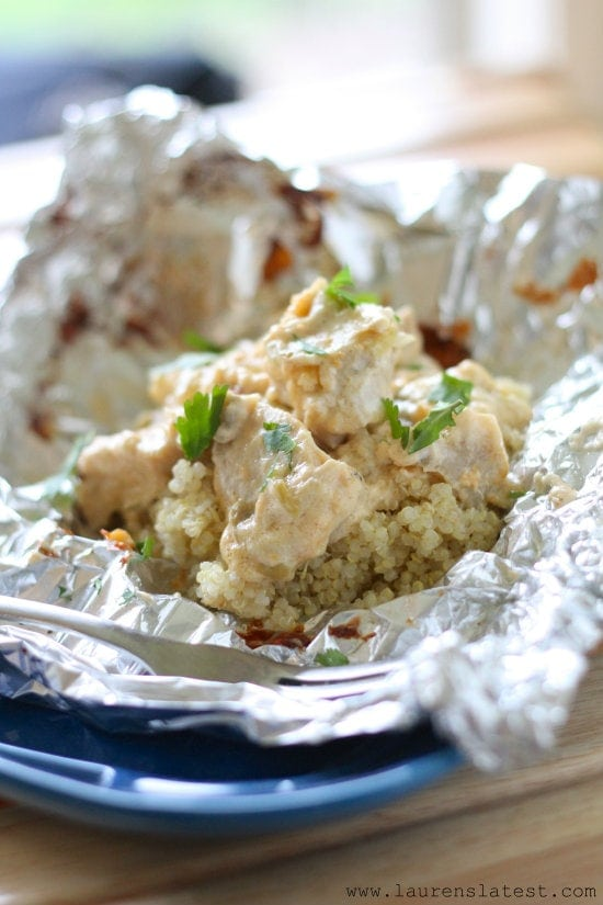 3 Cheese Chicken and Artichoke Bake from www.laurenslatest.com