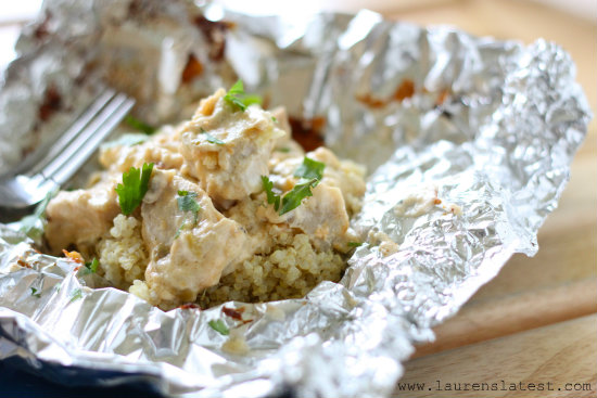 Three Cheese Chicken and Artichoke Bake from www.laurenslatest.com