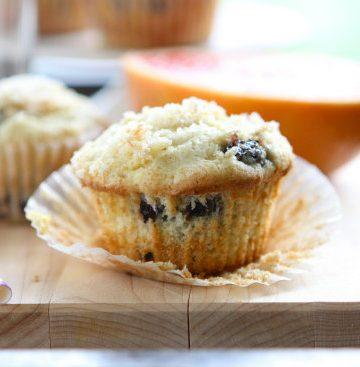 Blueberry Lemon Muffins {gluten free}