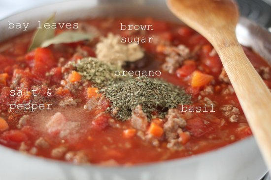 Spaghetti Meat Sauce Recipe