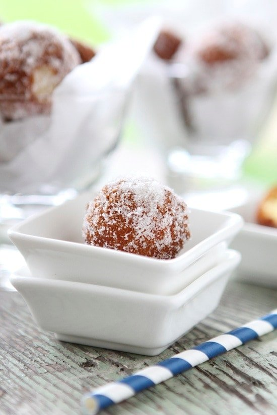 Sugared Doughnut Holes from ART Restaurant + The Four ...