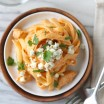 Buffalo Chicken & Blue Cheese Fettuccine Alfredo