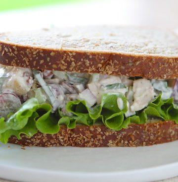 Basil & Pecan Chicken Salad