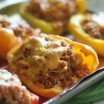 quinoa sweet potato stuffed peppers