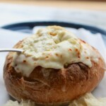 toasted bread bowl