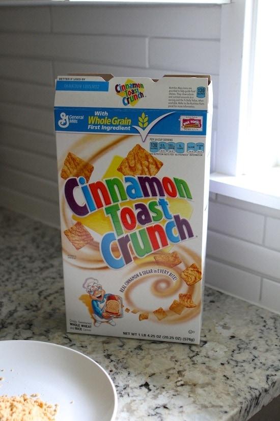 Cinnamon Toast Crust