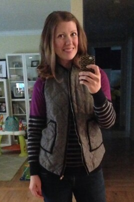 lauren mirror selfie