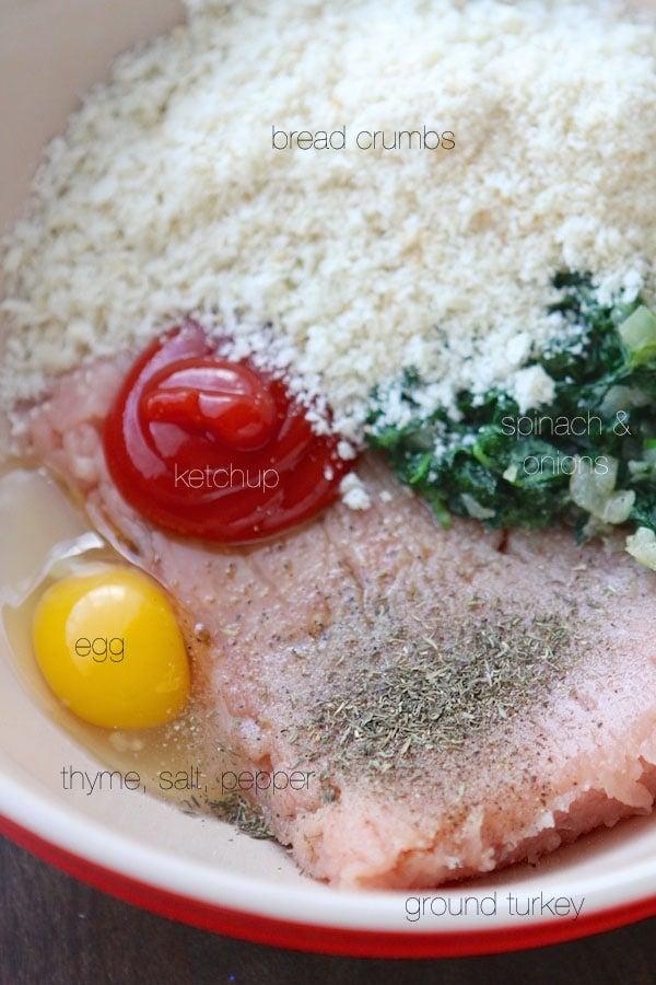 Turkey Meatloaf Ingredients
