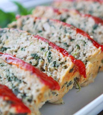 Turkey Meatloaf Florentine