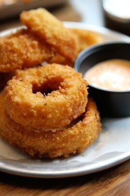 onion rings from tilt in portland