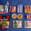 breakdown of food in the 72 hour emergency kit
