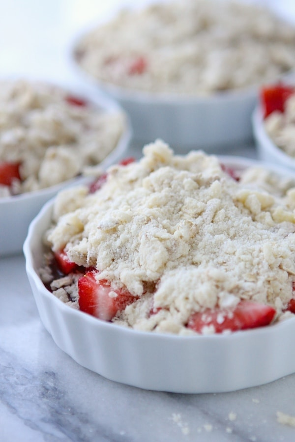Topped with Streusel