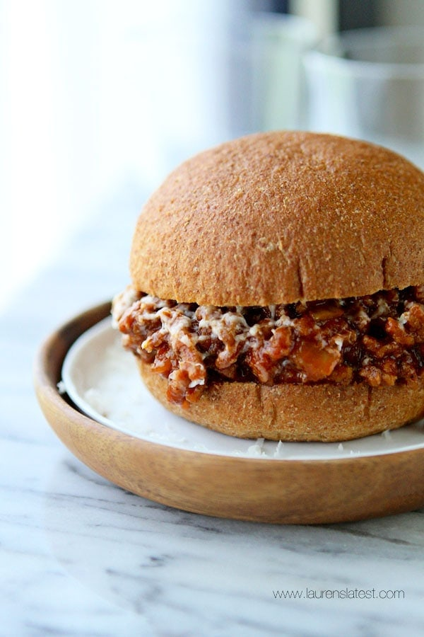 Sweet & Spicy Sloppy Joe Recipe with White Cheddar