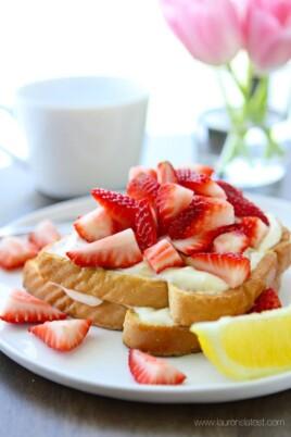 Lemon Cream French Toast