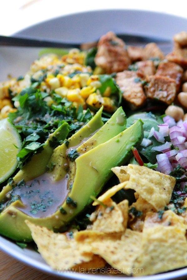 Kale Salad Southwest Super Greens