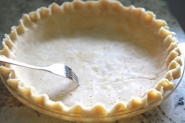 Docking pie crust