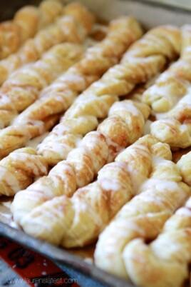 cinnamon sugar twists