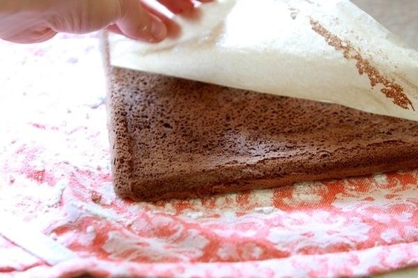 Baked Roll Cake