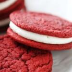 homemade red velvet oreo cookies