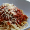 Roasted Tomato Bolognese Sauce