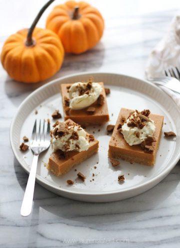 Pumpkin Pie Cheerios Bars