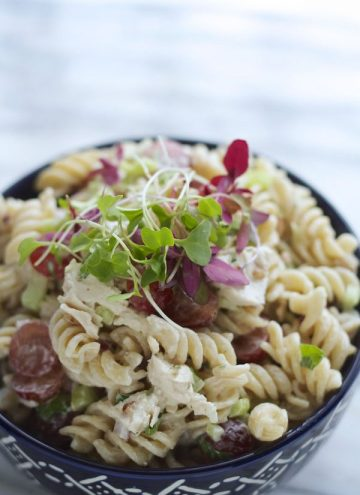 Fancy Chicken & Pecan Pasta Salad