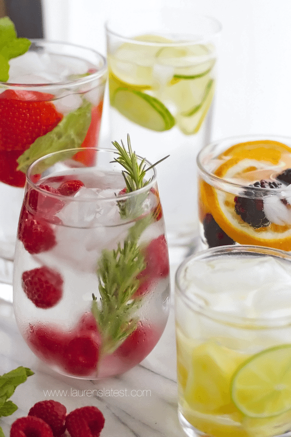 25 Detox Water Recipes {Flavored Water