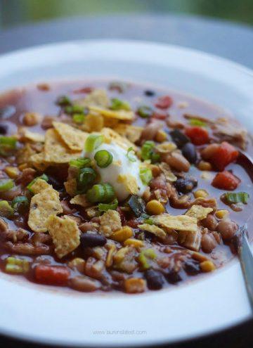 Crock-Pot Chicken Tortilla Soup