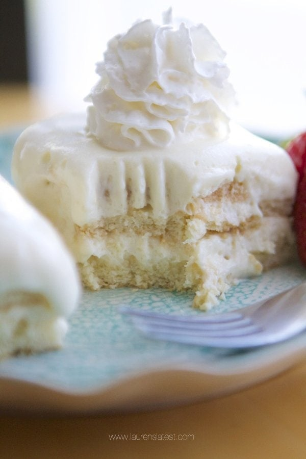 Lemon No Bake Icebox Cake