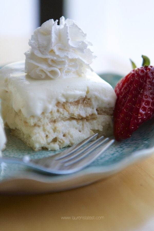 No-Bake Lemon Icebox Cake
