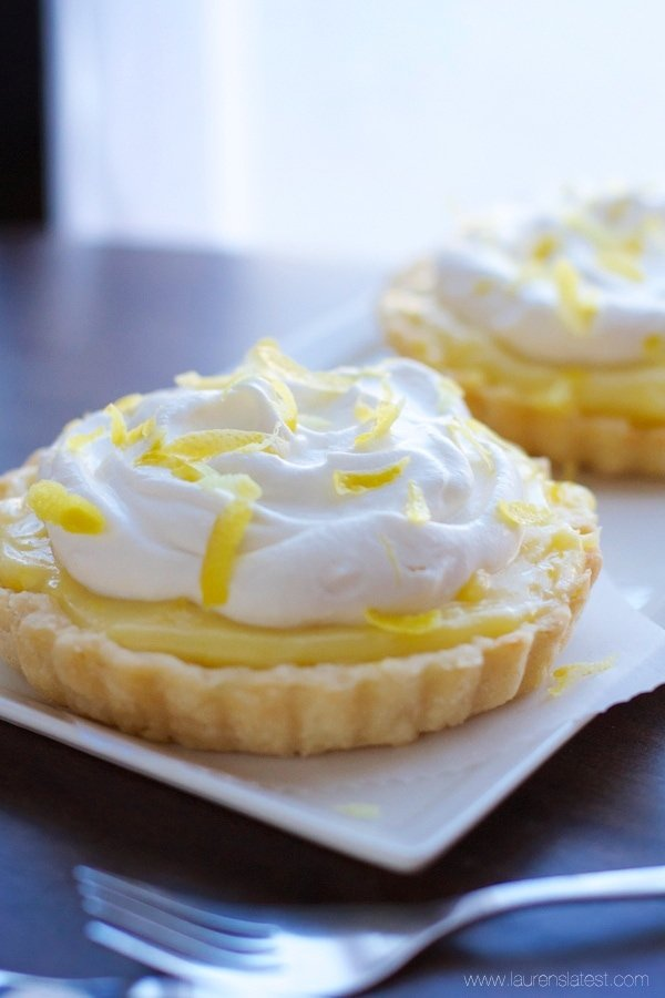 Lemon Sour Cream Tarts