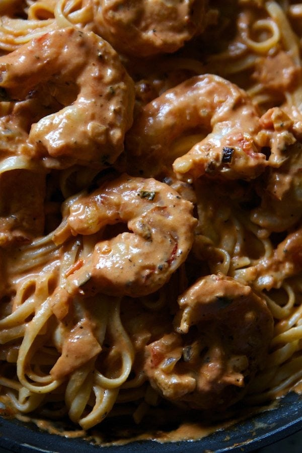 Spicy Shrimp Pasta Recipe