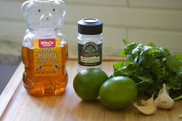 Chicken Skewer Ingredients