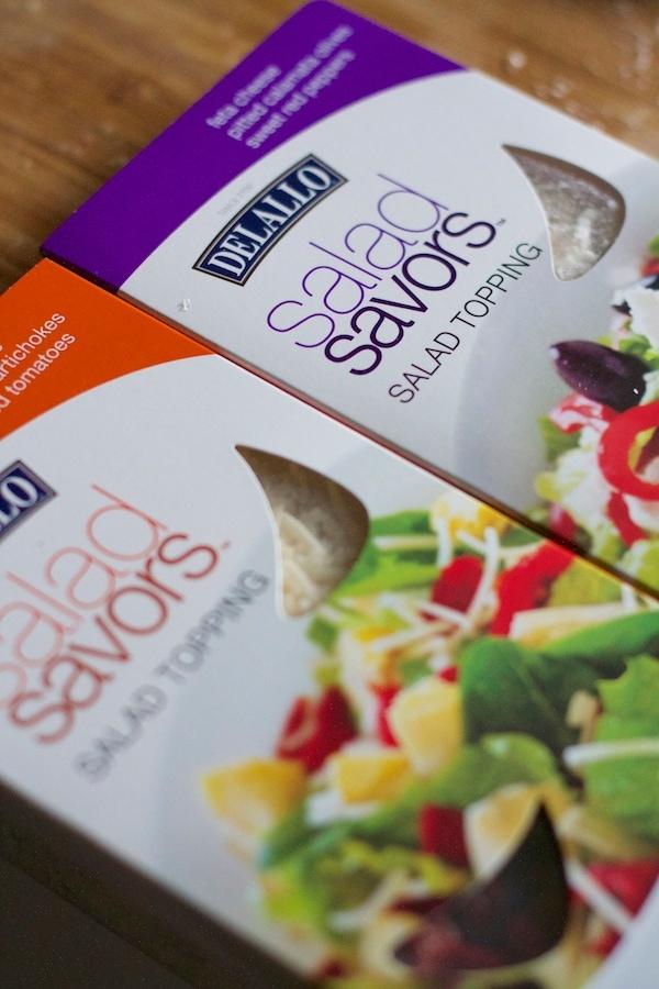 Salad toppings kits
