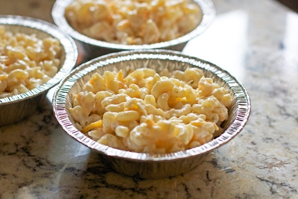 Camping Mac n' Cheese...omg so yummy!! The easiest make ahead dinner for camping!