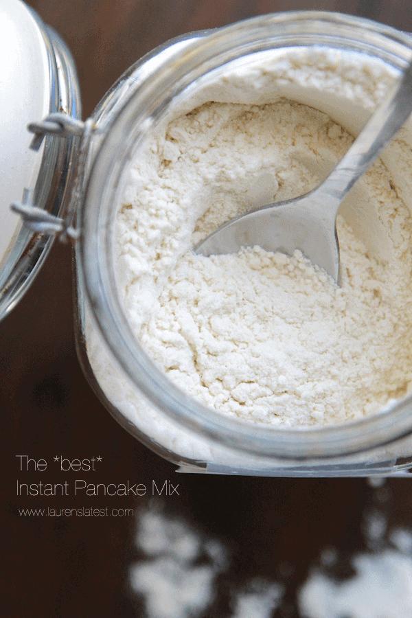 pancake mix recipe
