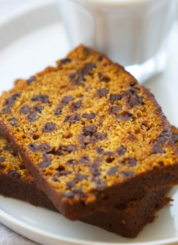 Big Batch Pumpkin Chocolate Chip Bread