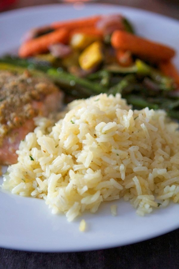 famous butter rice recipe